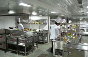 Организация кухни в кафе